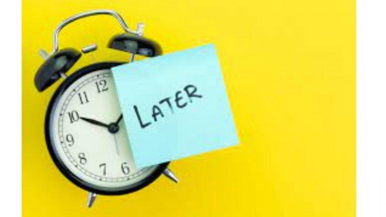 Procrastination: Hurdle to Success